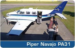 Piper Navajo PA31 - SE-IDR
